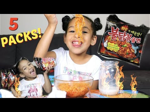 EXTREME Spicy Noodle Challenge!!! *GONE WRONG*
