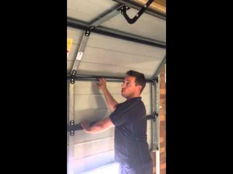 How to Disengage & Re Engage A Sectional Garage Door Motor
