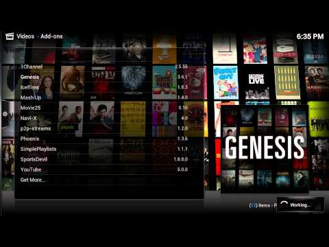 How to Install GENESIS for Kodi/XBMC 2015 (Watch Movies and TV Shows for FREE!)
