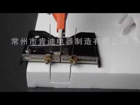 Hot Knife/EPS Foam Cutter Sled for groove——www.hot-knife.cn