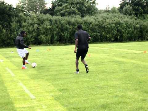 SB Football Academy - short tackling drill