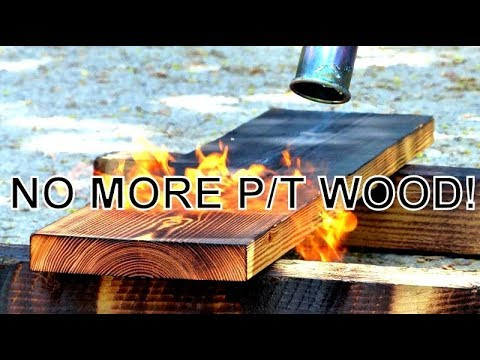 IF YOU DISLIKE PRESSURE TREATED WOOD THEN WATCH THIS VIDEO, A GOOD ALTERNATIVE FOR THE DRYING SHED