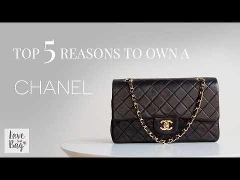 Top 5 Reasons You Should Own a Chanel Flap Bag