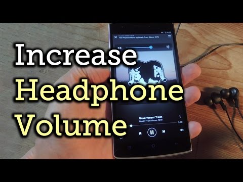 Increase the Headphone Volume on Your OnePlus One [How-To]