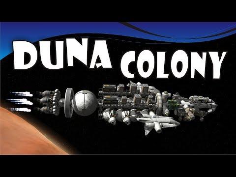 [22] SSTO Space Program - Duna Colony Ship is Ready! - KSP 1.3