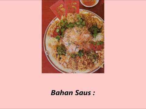 Resep Membuat Masakan Abalone dan Salmon Loh Hei Yee Sang