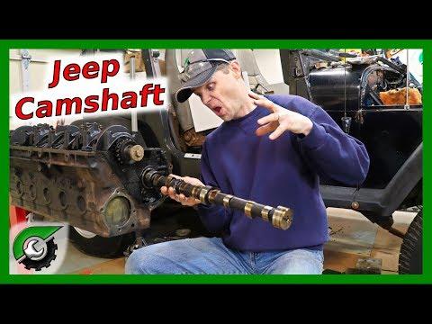 Jeep 4.0 Camshaft Removal: Rebuild Part 9