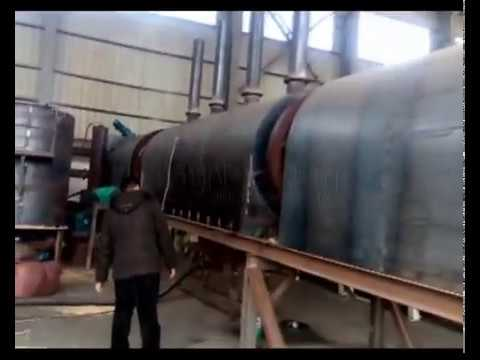 Coconut Shell Carbonizing Furnace for Coconut Shell Charcoal