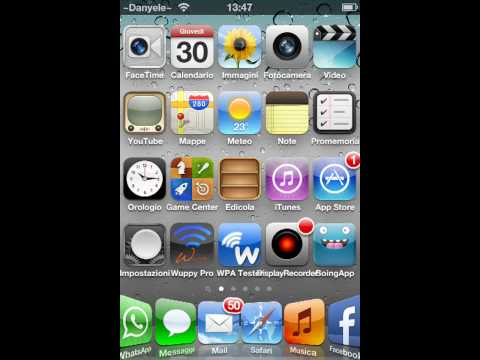 Installare WhatsApp su iTouch e iPad e presentazione di alcuni tweaks di cydia