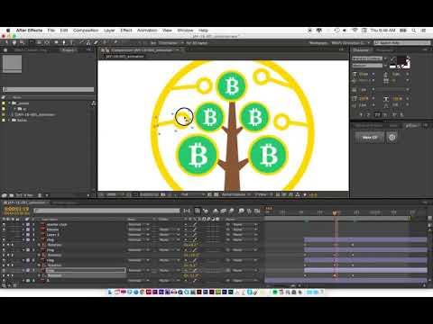 Full logo animation for Bitcoin Starter Club