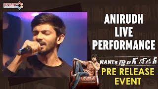 Anirudh Splendid Live Performance | Nani