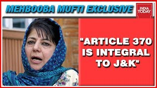 Mehbooba Mufti Exclusive With Rajdeep Sardesai On Article 370, Kashmir & Secession