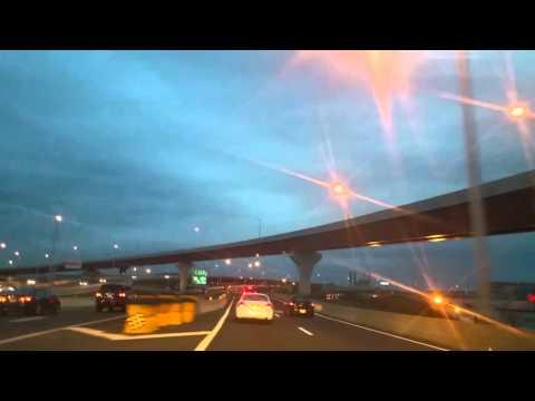 Driving thru New Haven,Connecticut