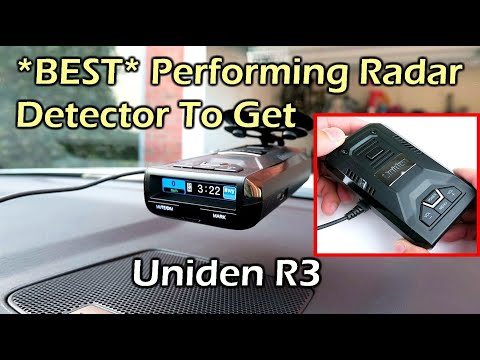 BEST Performing Radar Detector You Need To Get - UNIDEN R3