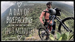 My Wonderful Day of Bikepacking in Three Minutes