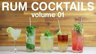 Download BEST RUM COCKTAILS - volume 01 Video
