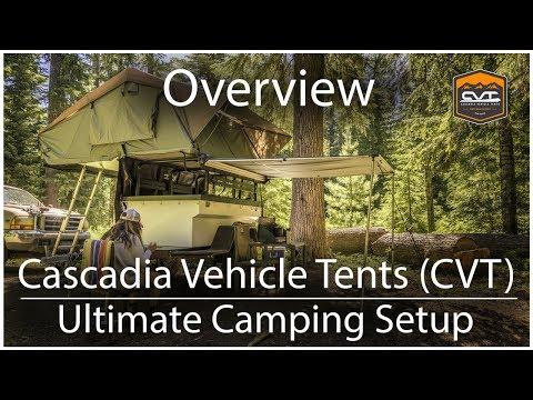 Ultimate Roof Top Tent Car Camping Setup | CVT Cascadia Vehicle Tents