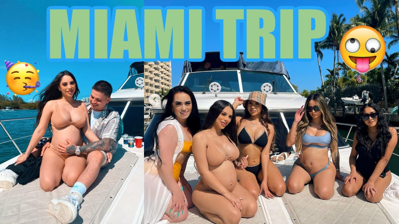 Our last trip before our baby's arrival | Miami trip!