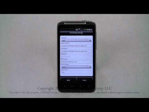 HTC ThunderBolt Tutorial Part 12