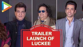 SPOTTED: Jeetendra, Tusshar Kapoor, Bappi Lahiri and Others @Trailer Launch Of 'Luckee