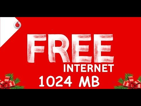Vodafone FREE Data Offer Get 1GB 3G/4G Internet Tricks 2018