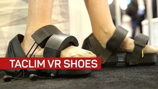 VR shoes let you feel the force