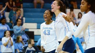 UNC Volleyball: Tar Heels Send NC State Packing, 3-1