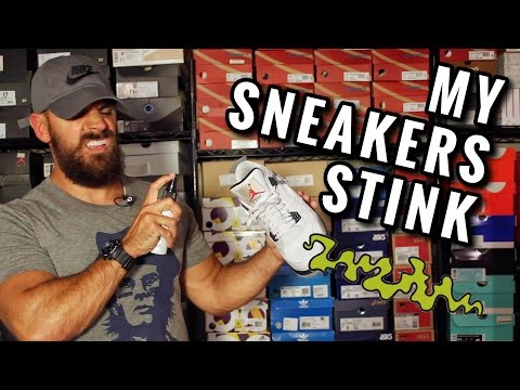 HOW TO GET RID OF SMELLY SNEAKERS