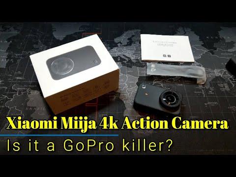 Xiaomi Miija 4K Action Camera - A GoPro killer for around $100?