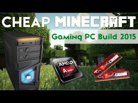 Super Cheap Gaming PC Build For Minecraft! 200FPS! [$300!]
