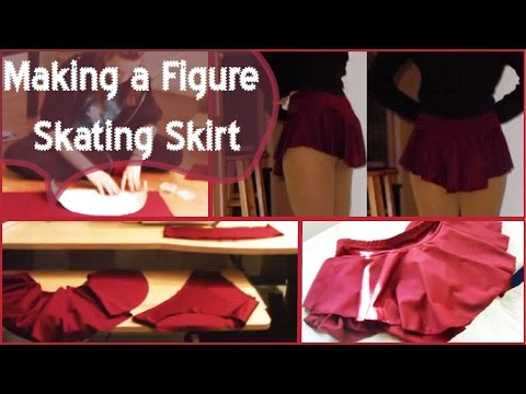 Making a figure skating skirt