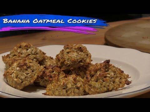 Protein Banana Oatmeal Cookies Recipe