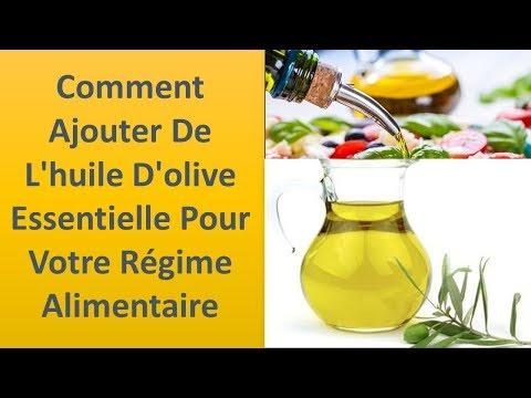 L'huile d'olive pour l'alimentation