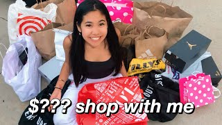 VLOG: NO BUDGET SHOPPING SPREE IN LA