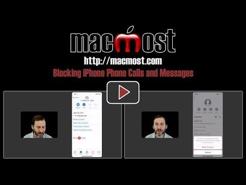 Blocking iPhone Phone Calls and Messages (#1536)