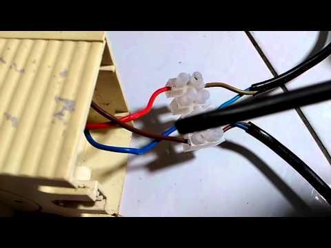 Lampur sensor light blinking & wiring