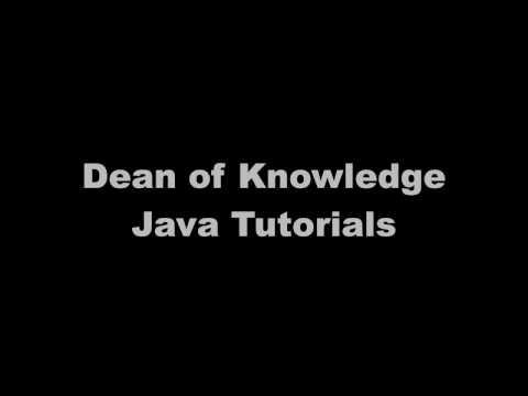JavaEnhancedForLoopVideo