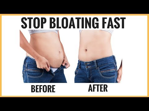 Stop Bloating Fast! How to Get Rid of Bloating Fast