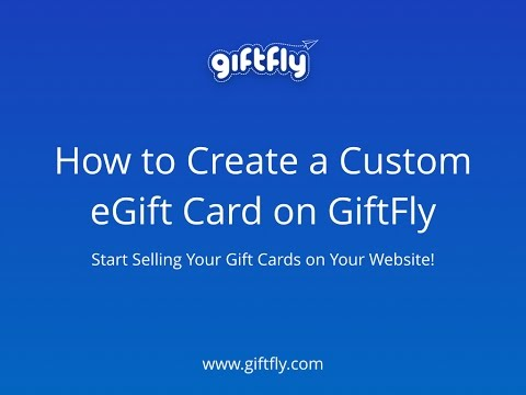 How to Create an Online Gift Card