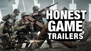 Call Of Duty Ww2 honest Game Trailers