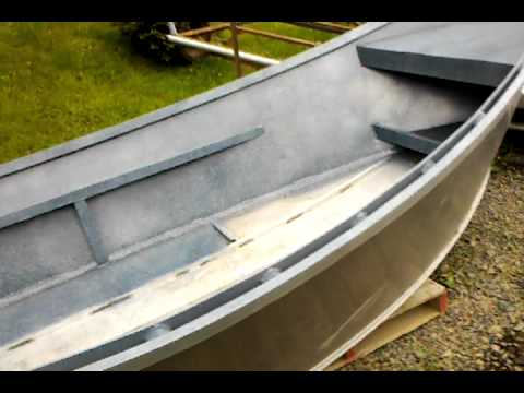 16' aluminum drift boat