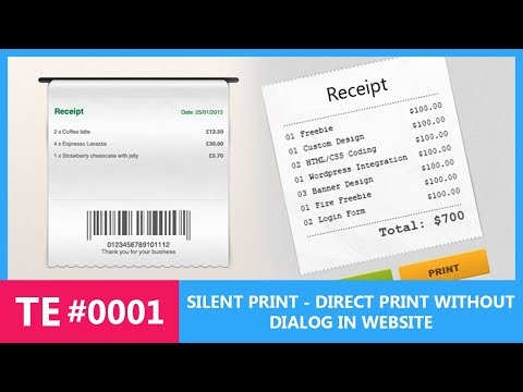 Tech Tutorial#1: Silent Print or Print Without Dialog Box In Firefox + Chrome #Tech Ex
