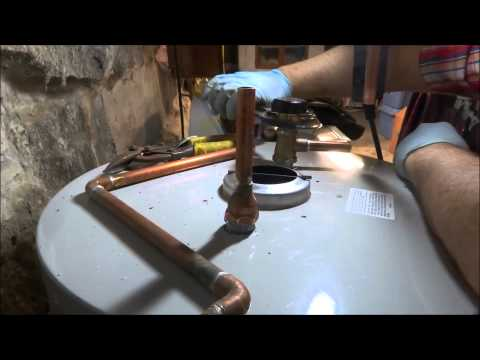 gas water heater replacement from start to finish
