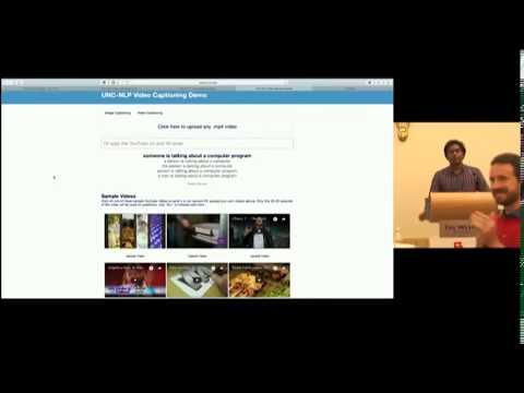 Multi Task Video Captioning with Visual and Textual Entailment  | Mohit Bansal | ACL 2017