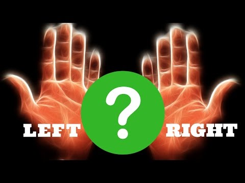 WHICH HAND TO READ FOR FEMALE - LEFT HAND OR RIGHT HAND (PALMISTRY)