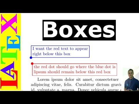 How to use Boxes in LaTeX (Latex Advanced Tutorial - 09)