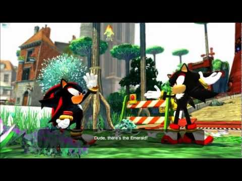 Sonic Generations mod: Shadow v5 preview