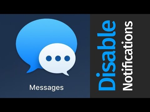 How to Disable iMessage Notifications on Mac | MacBook Pro, iMac, Mac mini , MacBook Air, Mac Pro