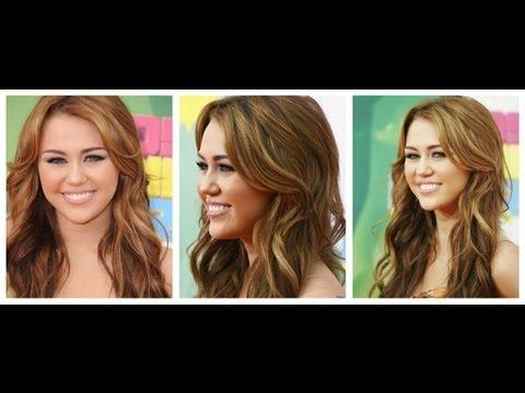 Miley Cyrus inspired Wavy Hair Tutorial