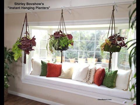 Instant Indoor Hanging Planter: Lightweight